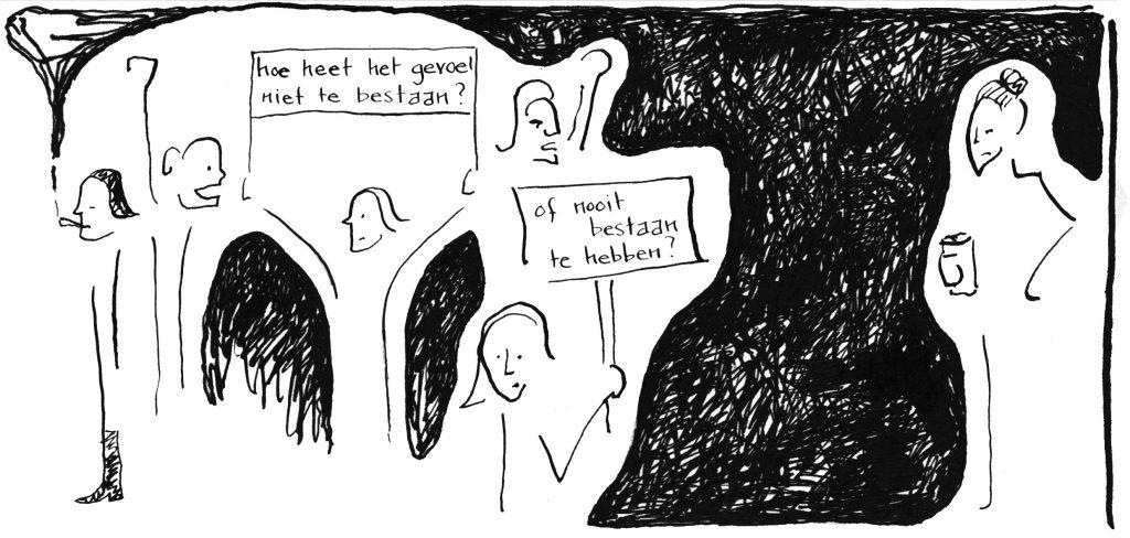 fragment strip op ruwe planken